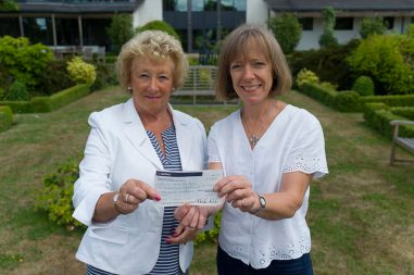 Di Gregory and her Ladies team raised over £7,000