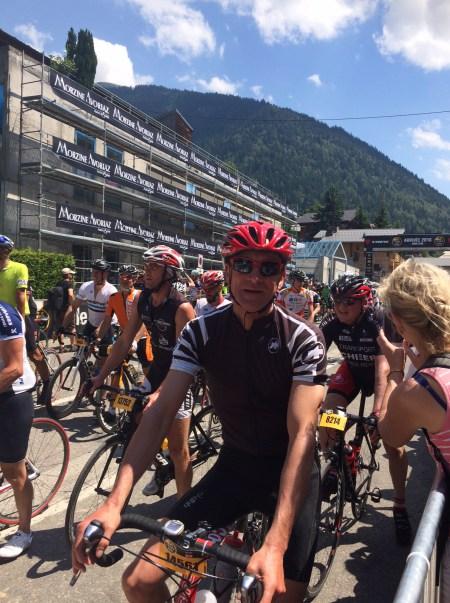 Skipper Peter fundraising and cycling the Etape de Tour