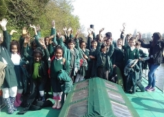 A local school has a good day on board!